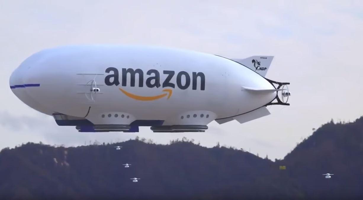 La última patente de amazon parece sacada de la ciencia ficción