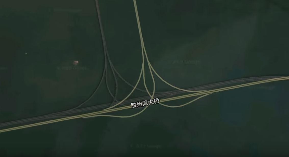 mapa de un puente en china erroneo