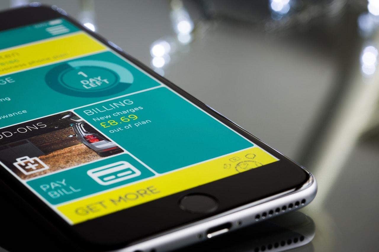 Una interfaz de usuario móvil