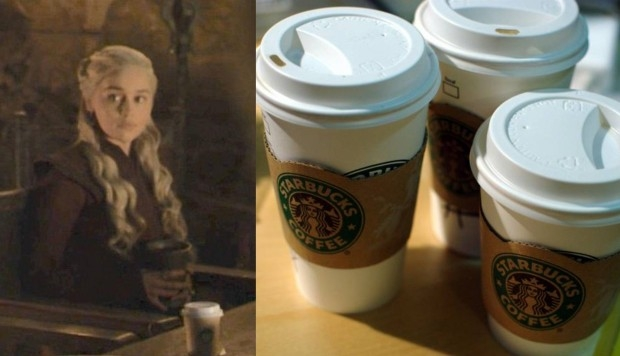 starbucks and daenerys targaryen