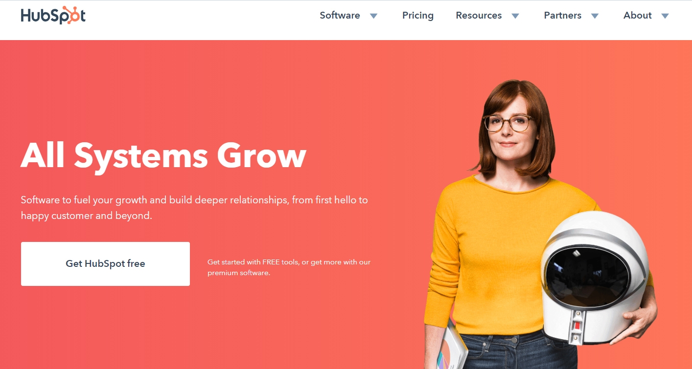 Hubspot - Un CRM gratuito de calidad para digitalizar tu negocio.